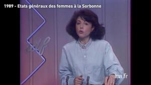 Antoinette Fouque Etats generaux des femmes à la Sorbonne