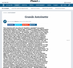 Antoinette Fouque Site Planet