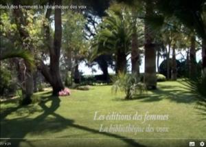 Antoinette Fouque Les éditions des femmes – la bibliothèque des voix