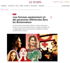 Antoinette Fouque Site Le Temps