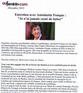 Antoinette Fouque au-feminin