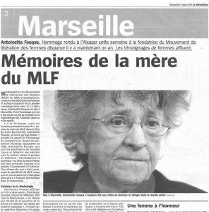 Antoinette Fouque la-marseillaise