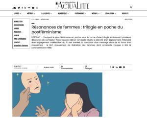 Antoinette Fouque Site Les univers du Livre - ctualité