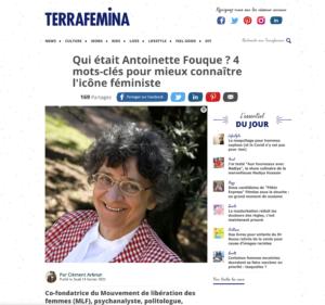 Antoinette Fouque terra femina